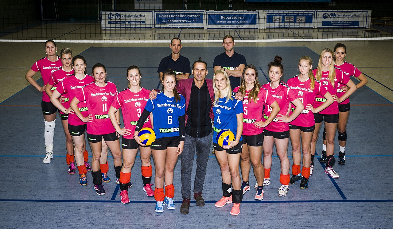 Dentalservice-Gust-Volleys Chemnitz 2017/2018